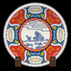 中国美術-皿